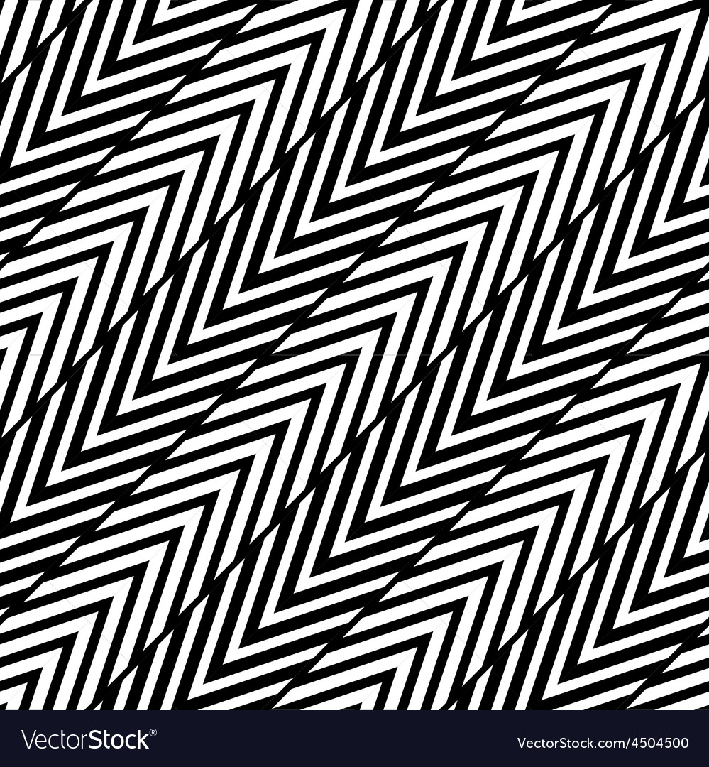Abstract black and white herringbone seamless pa vector | Price: 1 Credit (USD $1)