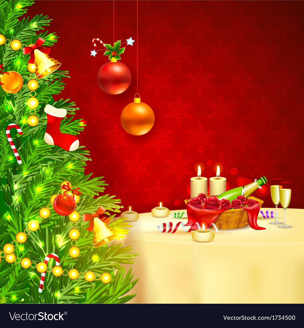 Christmas celebration vector | Price: 1 Credit (USD $1)