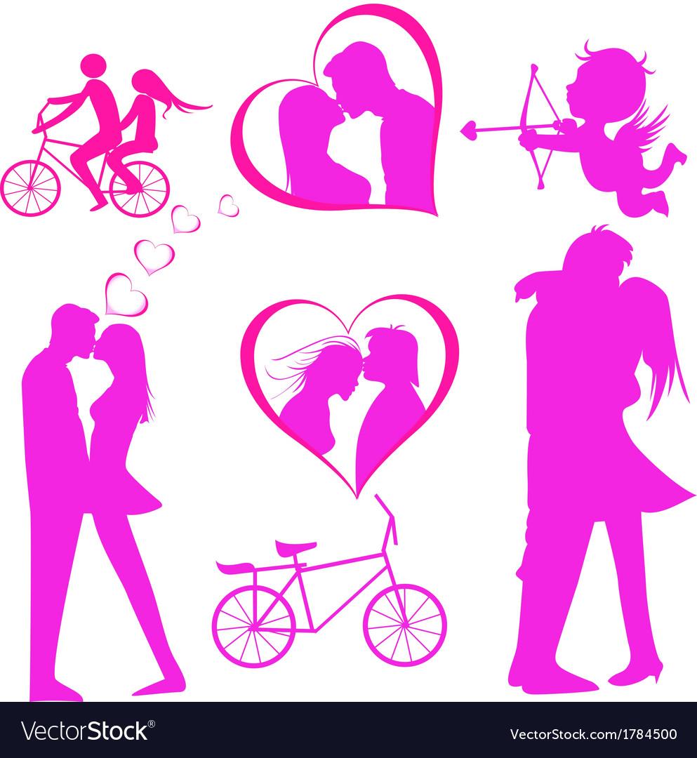 Valentines day icon vector | Price: 1 Credit (USD $1)