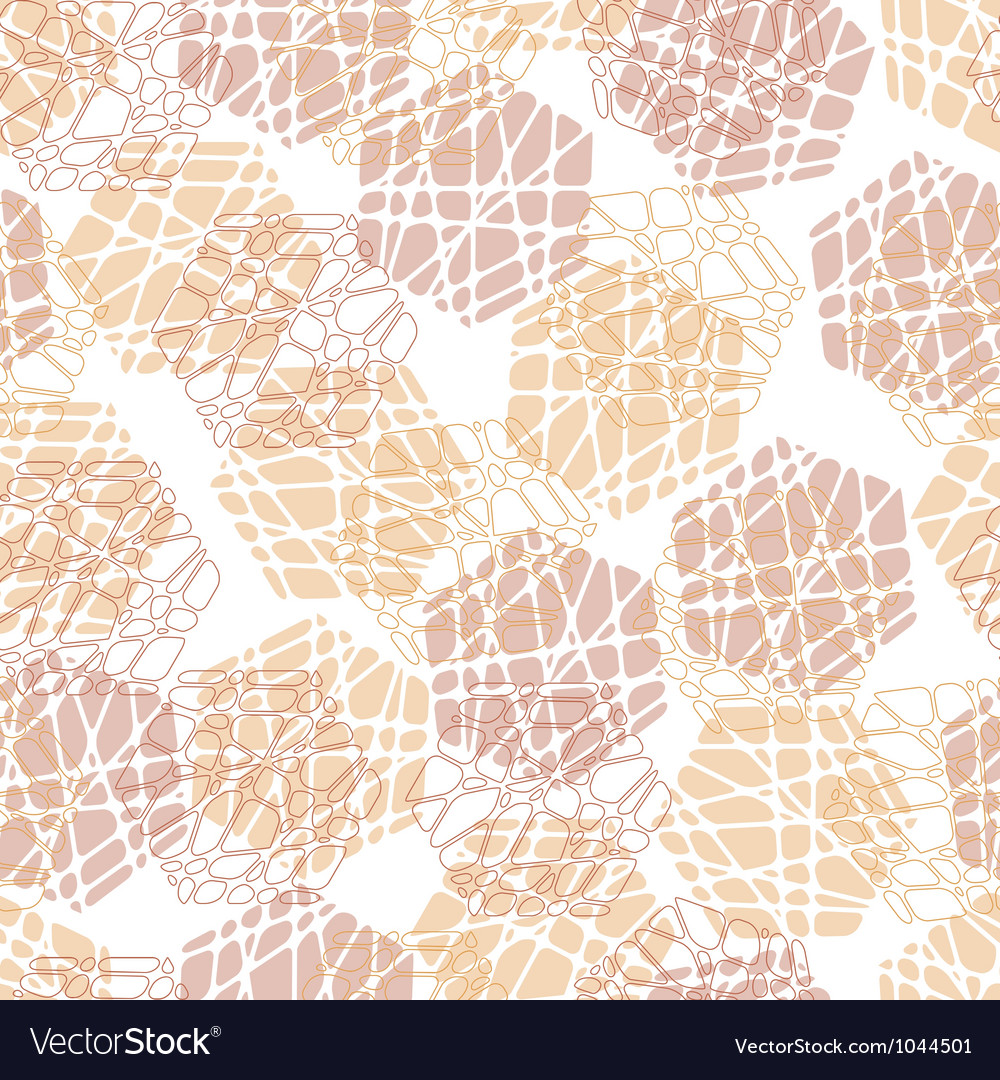 Abstract mosaic hexagon texture vector | Price: 1 Credit (USD $1)