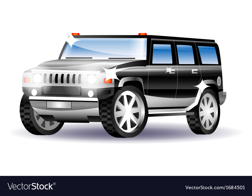 Big car vector | Price: 1 Credit (USD $1)
