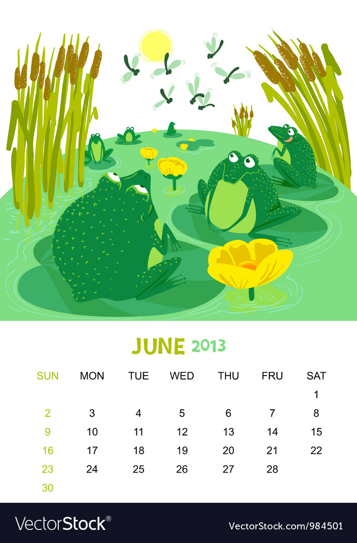 June vector | Price: 3 Credit (USD $3)