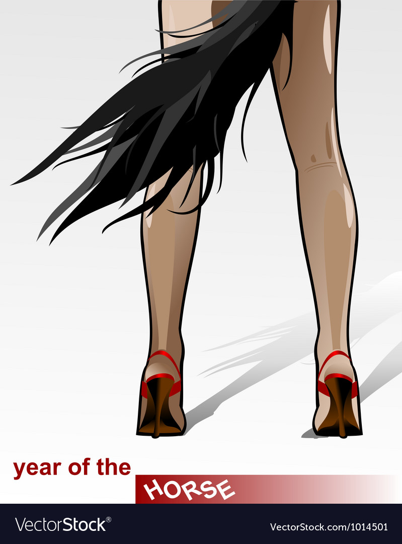 Year of the horse vector | Price: 1 Credit (USD $1)