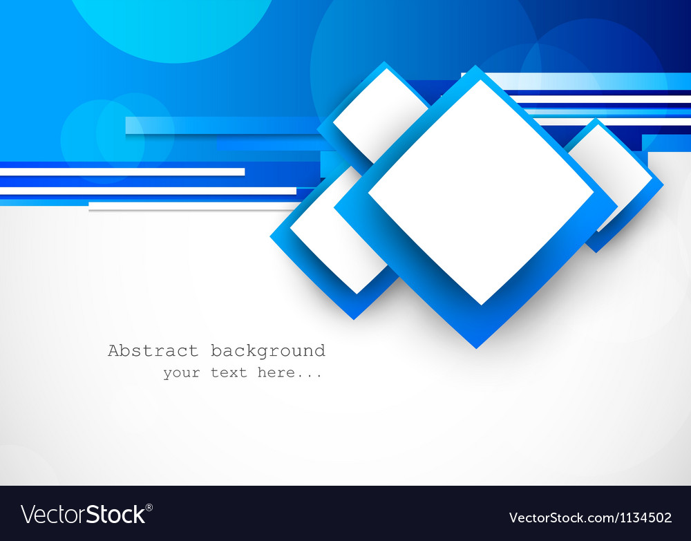 Blue background with squares vector | Price: 1 Credit (USD $1)