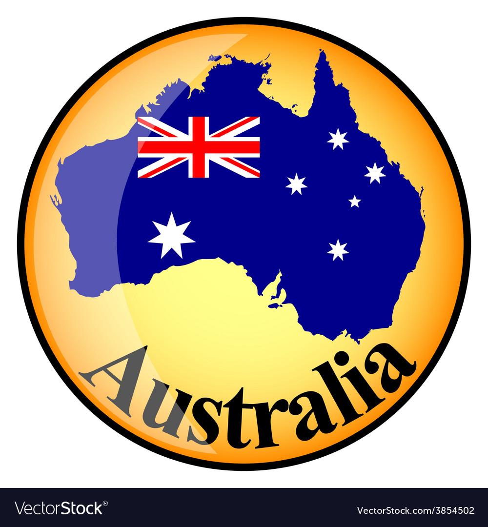 Button australia vector | Price: 1 Credit (USD $1)