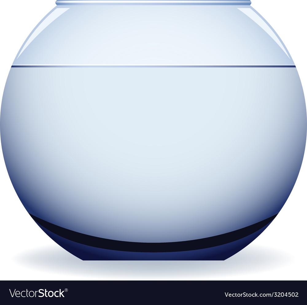 Empty aquarium vector | Price: 1 Credit (USD $1)