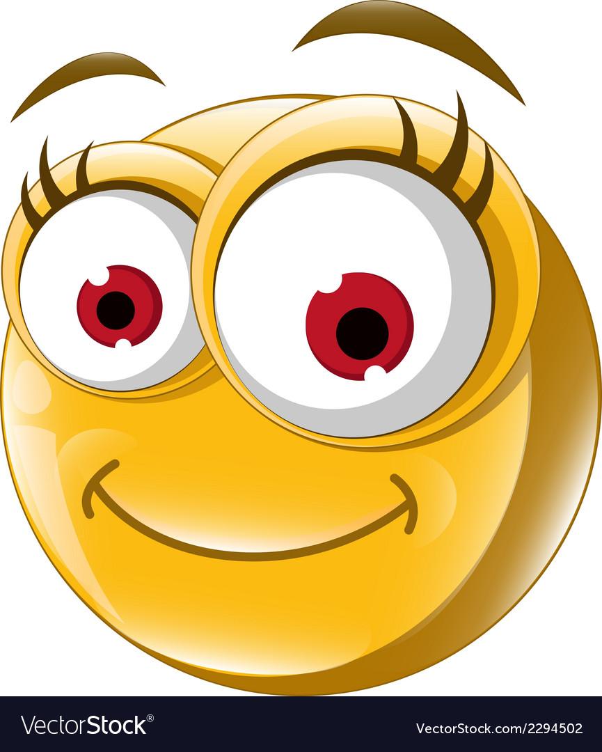 Happy smiley face vector | Price: 1 Credit (USD $1)