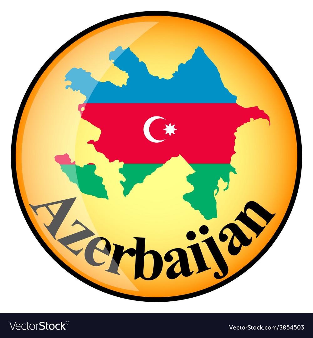 Button azerbaijan vector | Price: 1 Credit (USD $1)