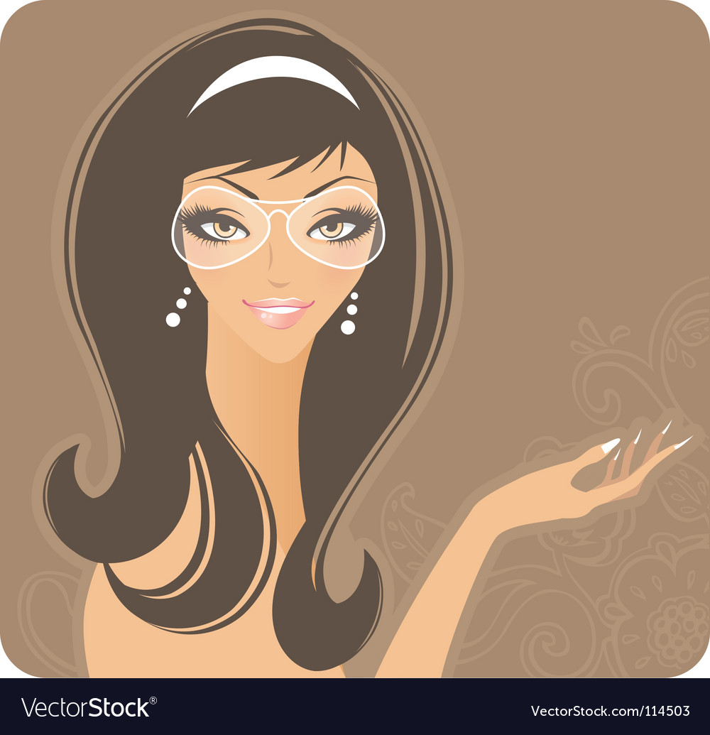Glamour women vector | Price: 3 Credit (USD $3)