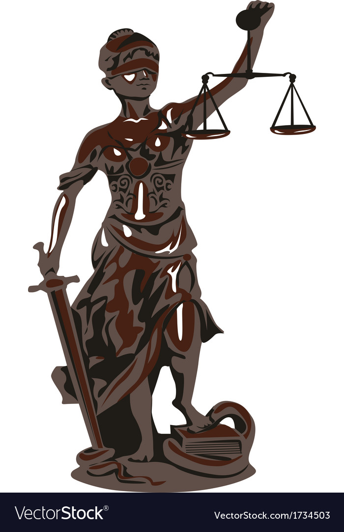 Goddess of justice vector | Price: 1 Credit (USD $1)