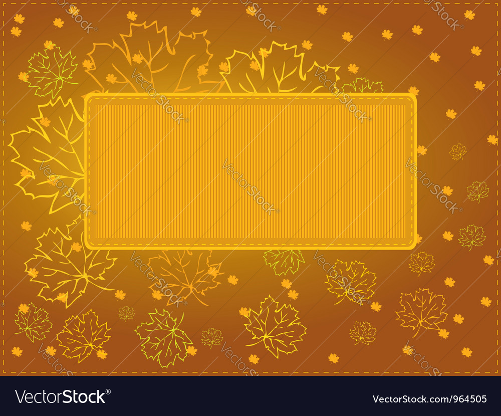 Multi purpose autumn card vector | Price: 1 Credit (USD $1)