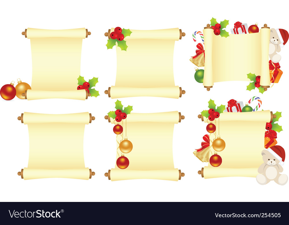 Set  christmas letters vector | Price: 1 Credit (USD $1)