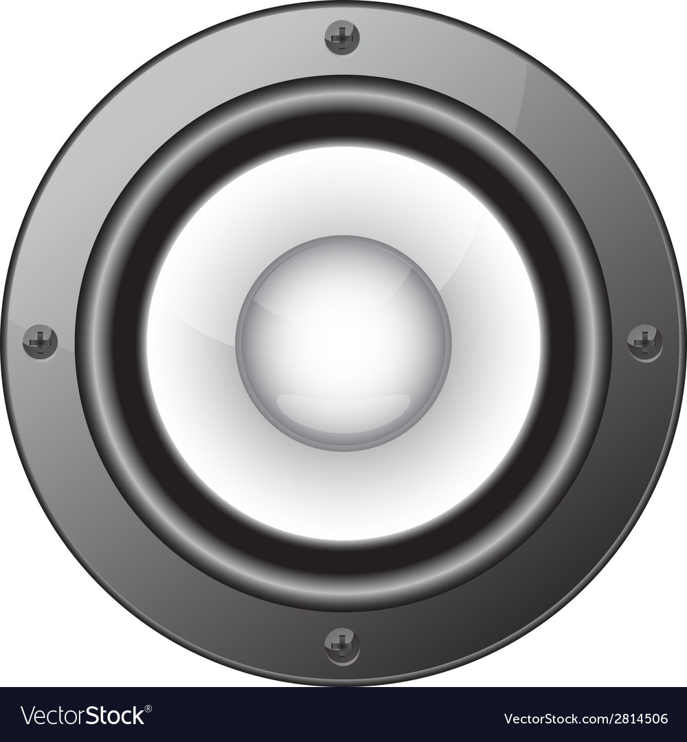 Audio speaker vector | Price: 1 Credit (USD $1)