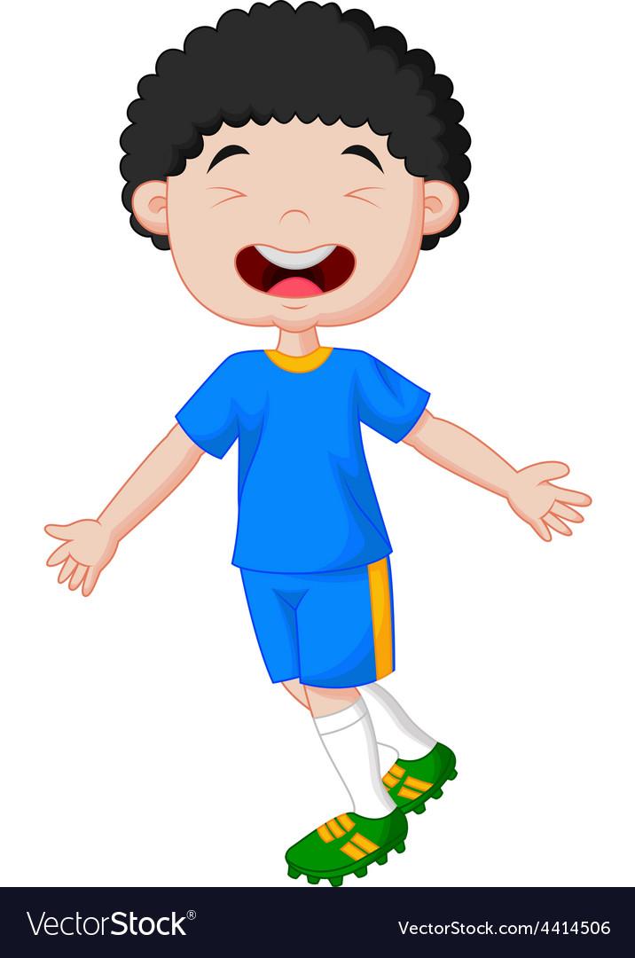 Children celebrate his goal vector   Price: 1 Credit (USD $1)