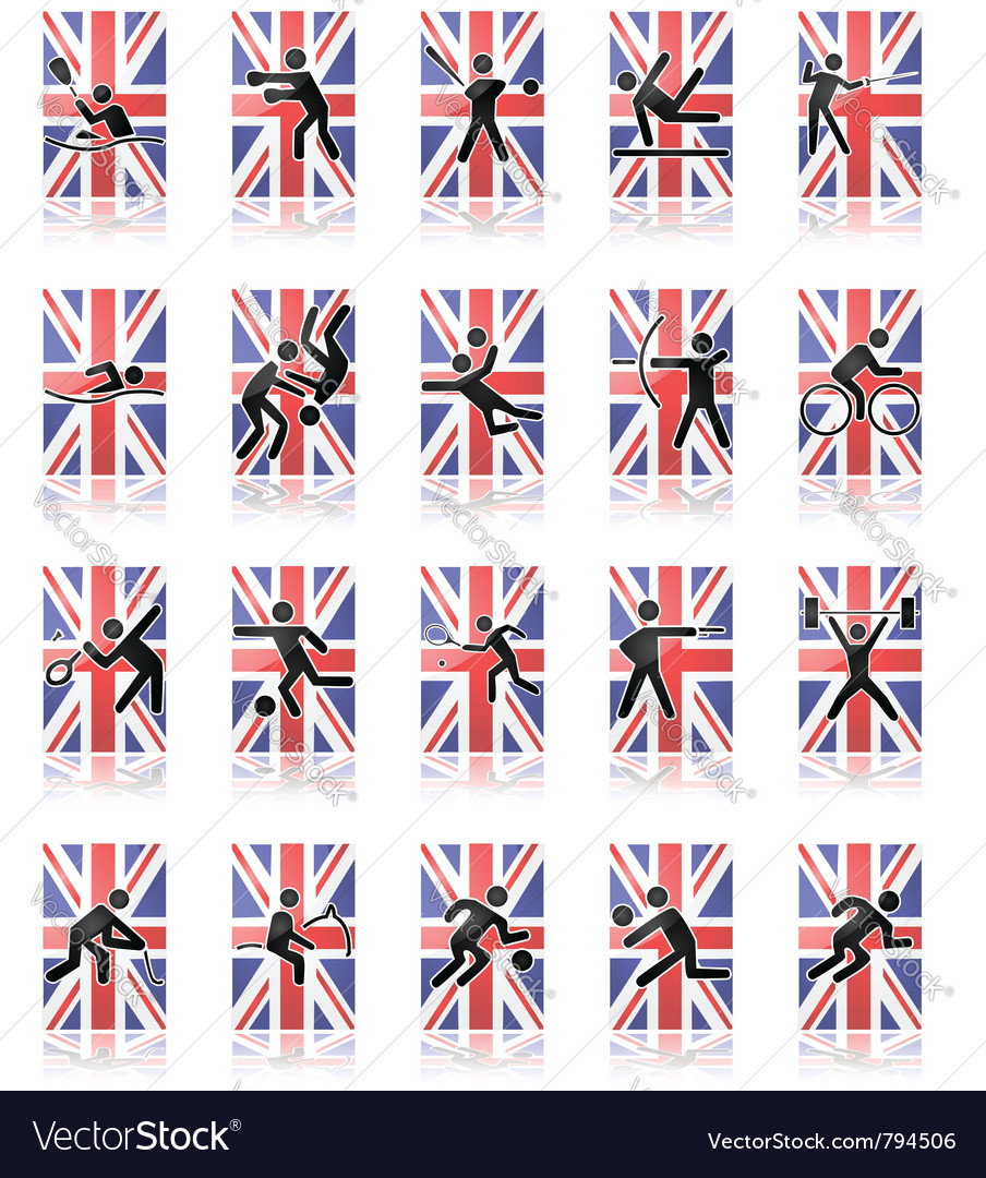 Olympic sport icons vector   Price: 1 Credit (USD $1)