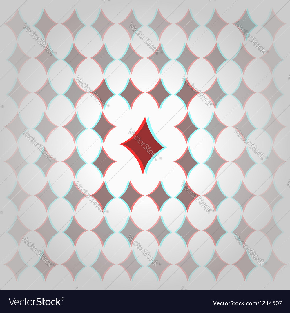 Clubs 3d geometric background vector | Price: 1 Credit (USD $1)