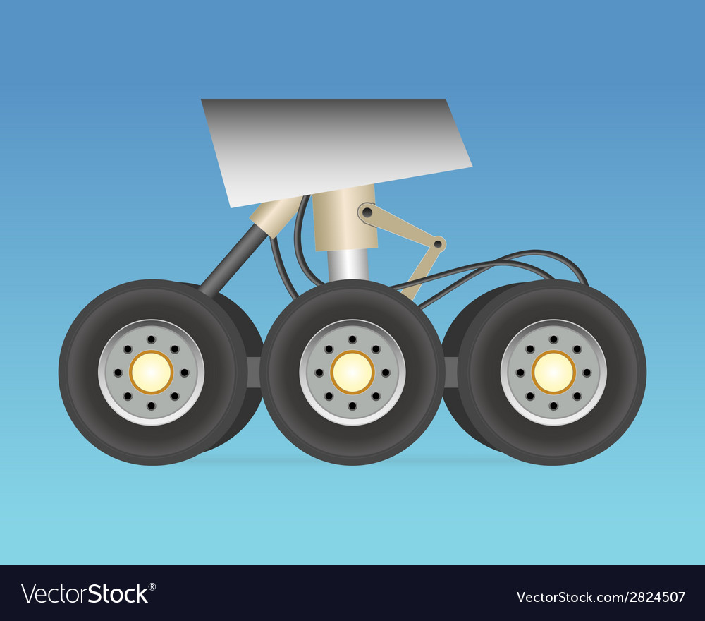 Landing gear vector | Price: 1 Credit (USD $1)