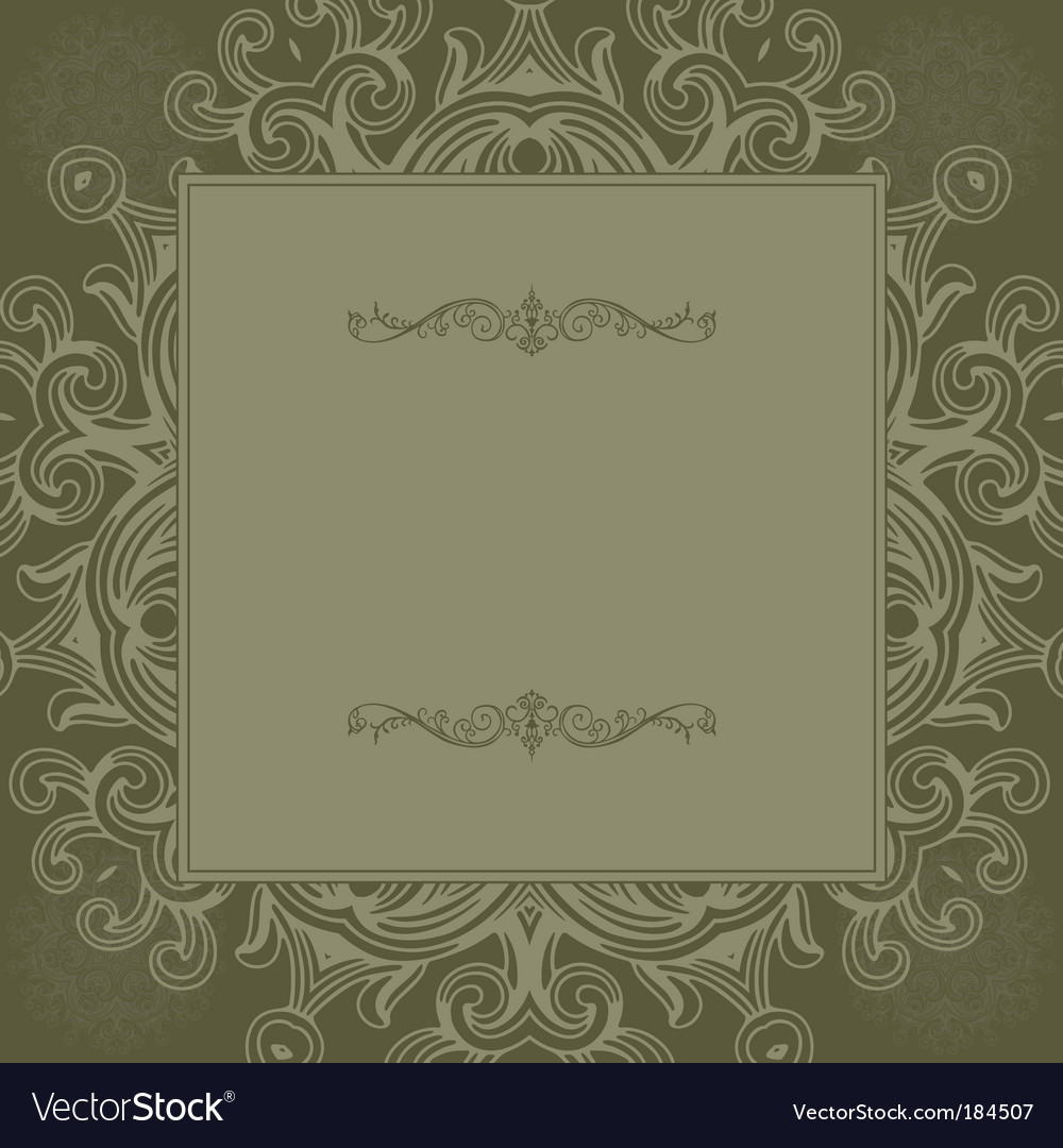 Square frame vector | Price: 1 Credit (USD $1)