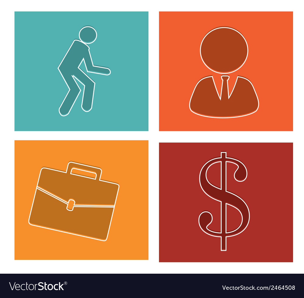 Business icons-set 2 vector | Price: 1 Credit (USD $1)