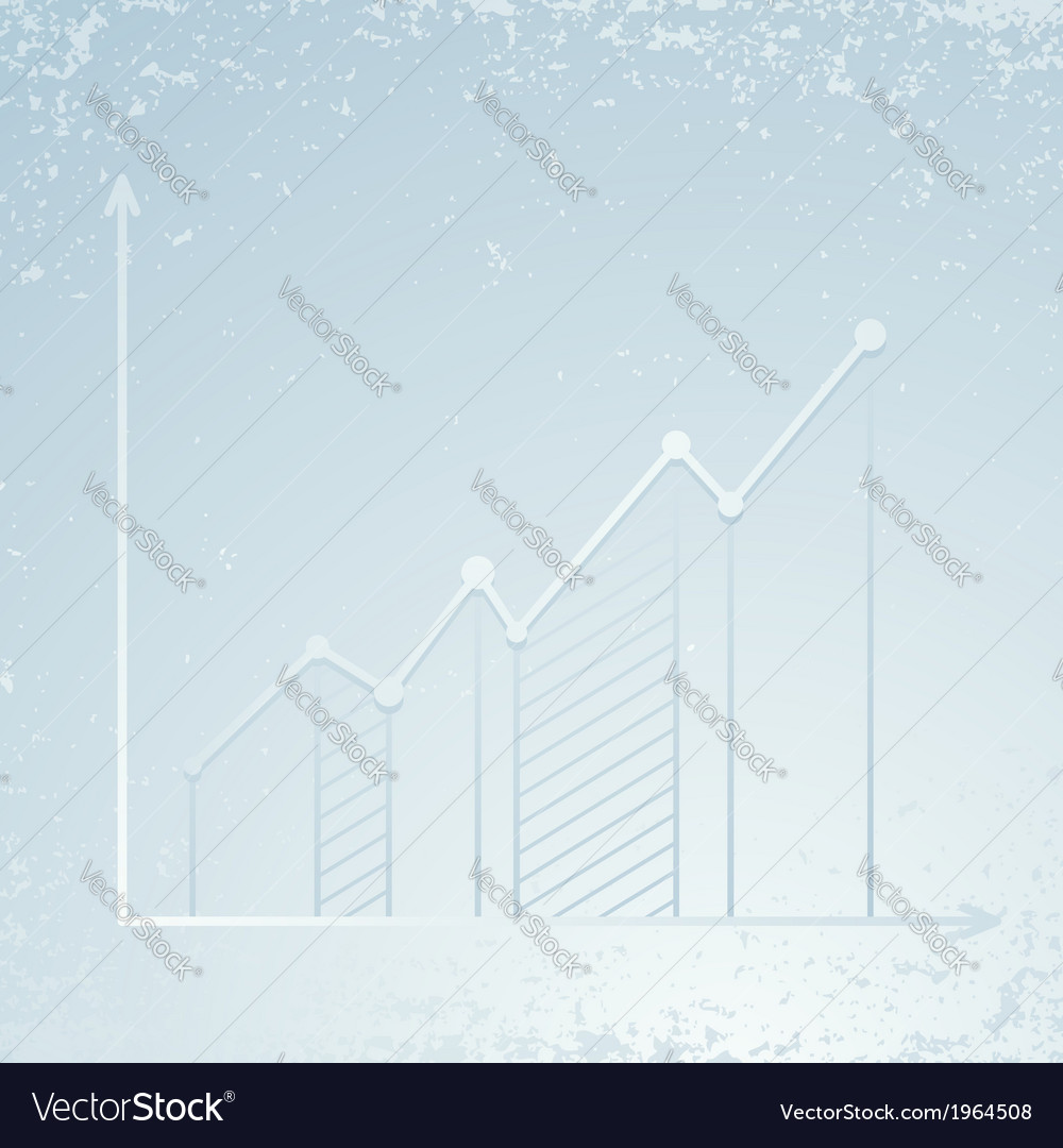 Chart showing growth - infographics template vector | Price: 1 Credit (USD $1)