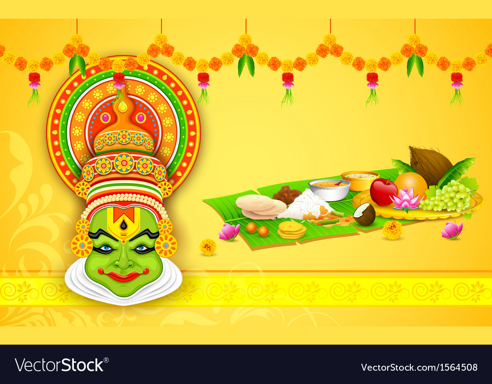 Colorful kathakali face vector | Price: 1 Credit (USD $1)