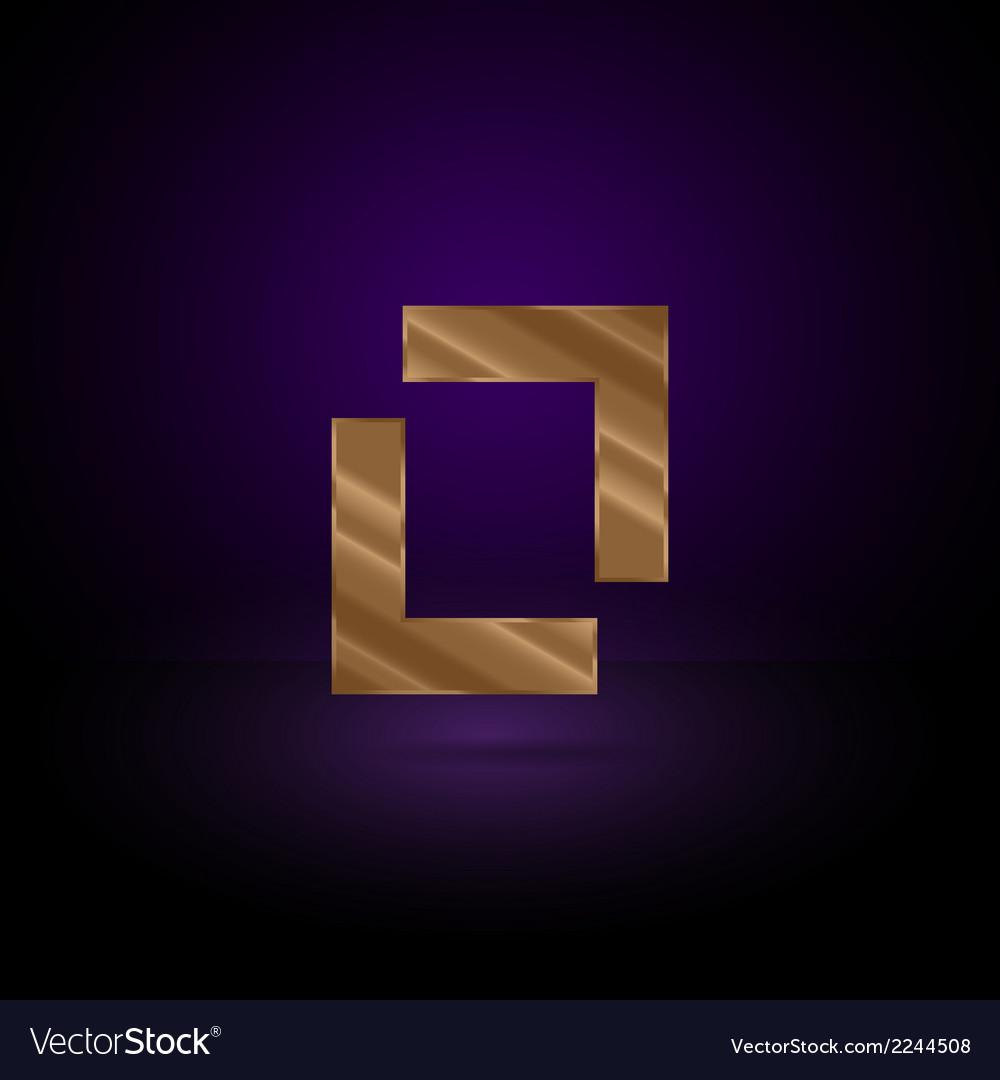 Gold metal symbol vector   Price: 1 Credit (USD $1)