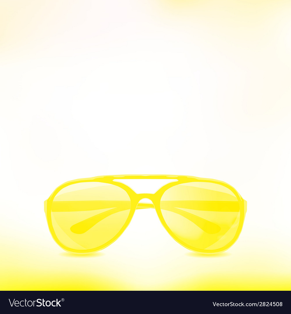 Sunglasses isolated background vector | Price: 1 Credit (USD $1)