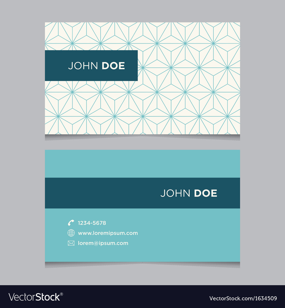 Business card pattern blue 02 vector | Price: 1 Credit (USD $1)