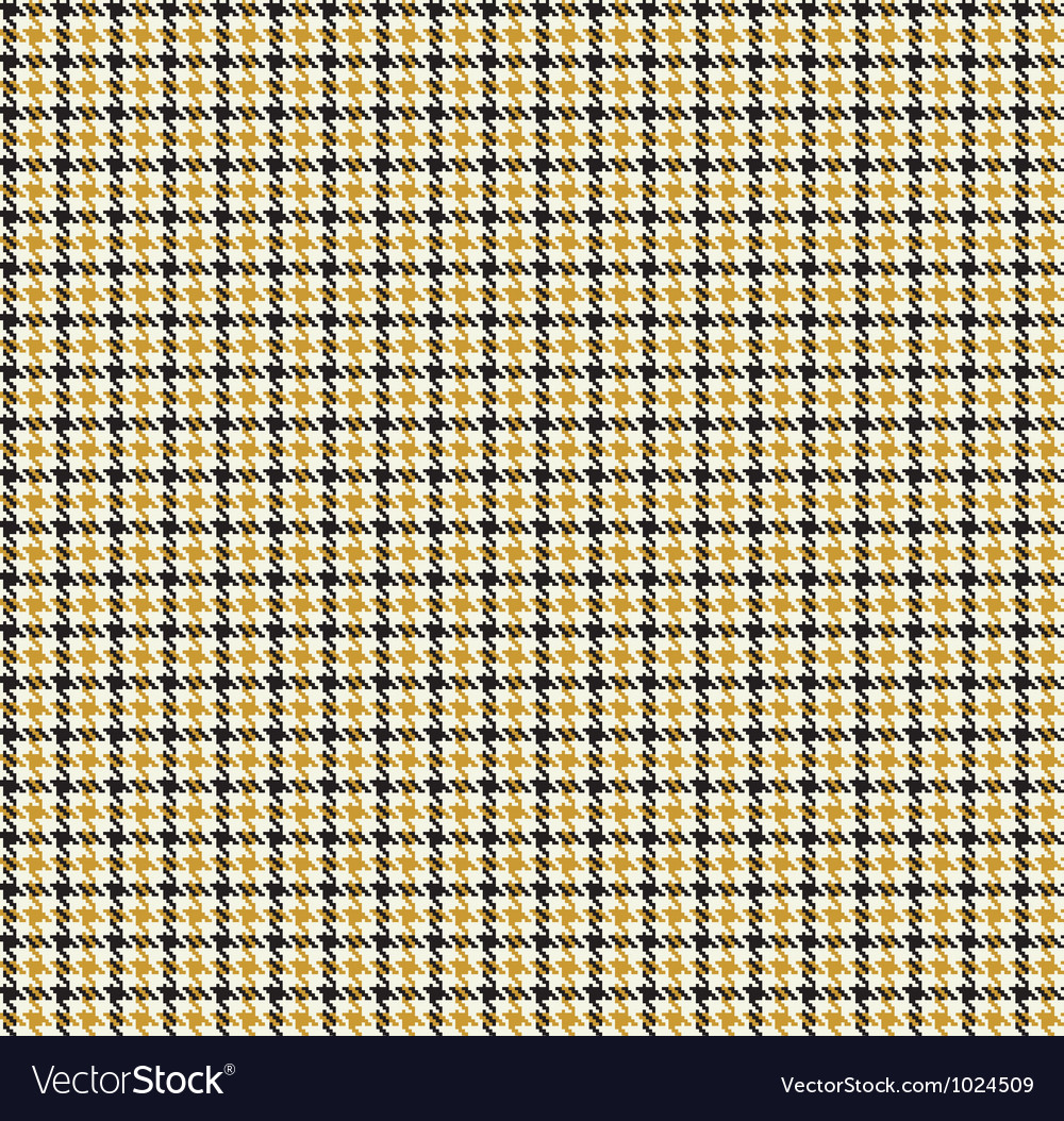 Houndtooths seamless pattern vector | Price: 1 Credit (USD $1)