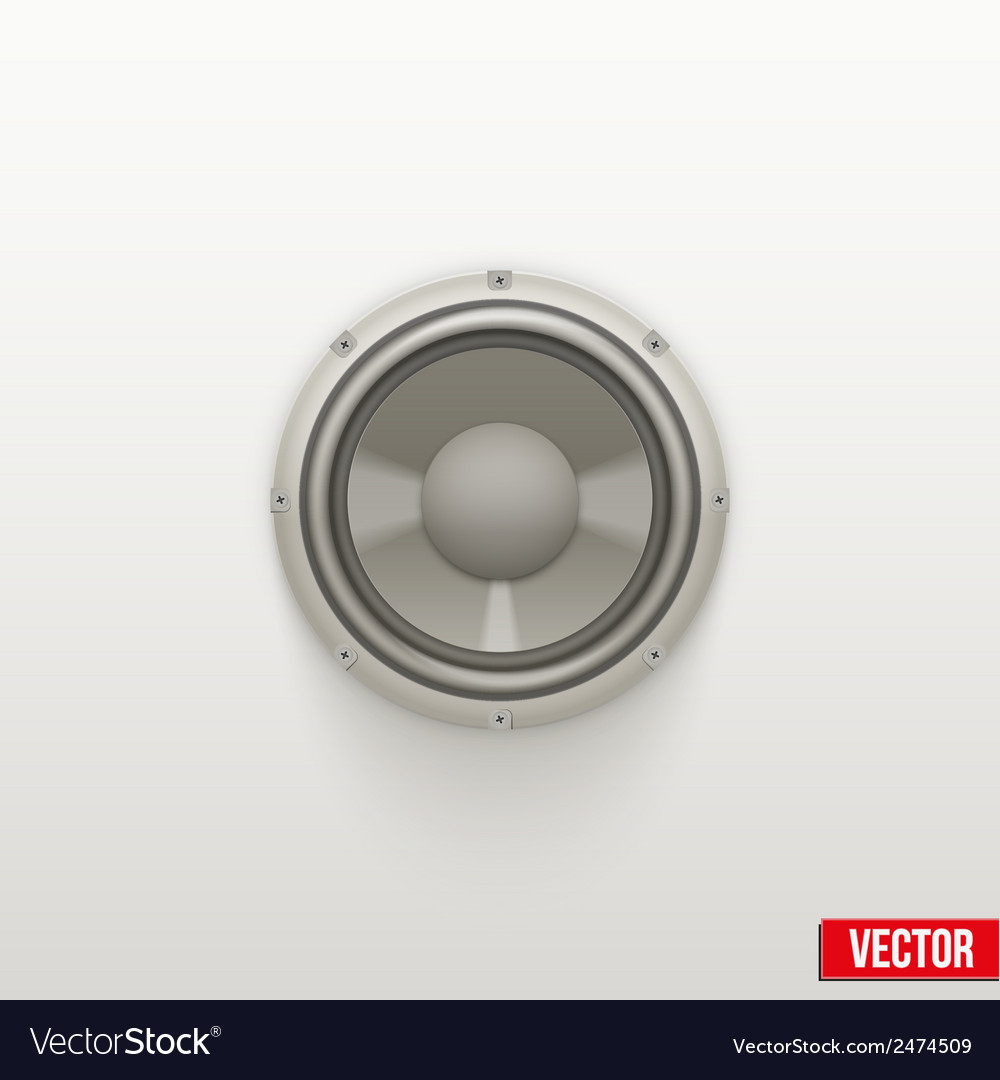 Icon light load speaker symbol of sound vector | Price: 1 Credit (USD $1)