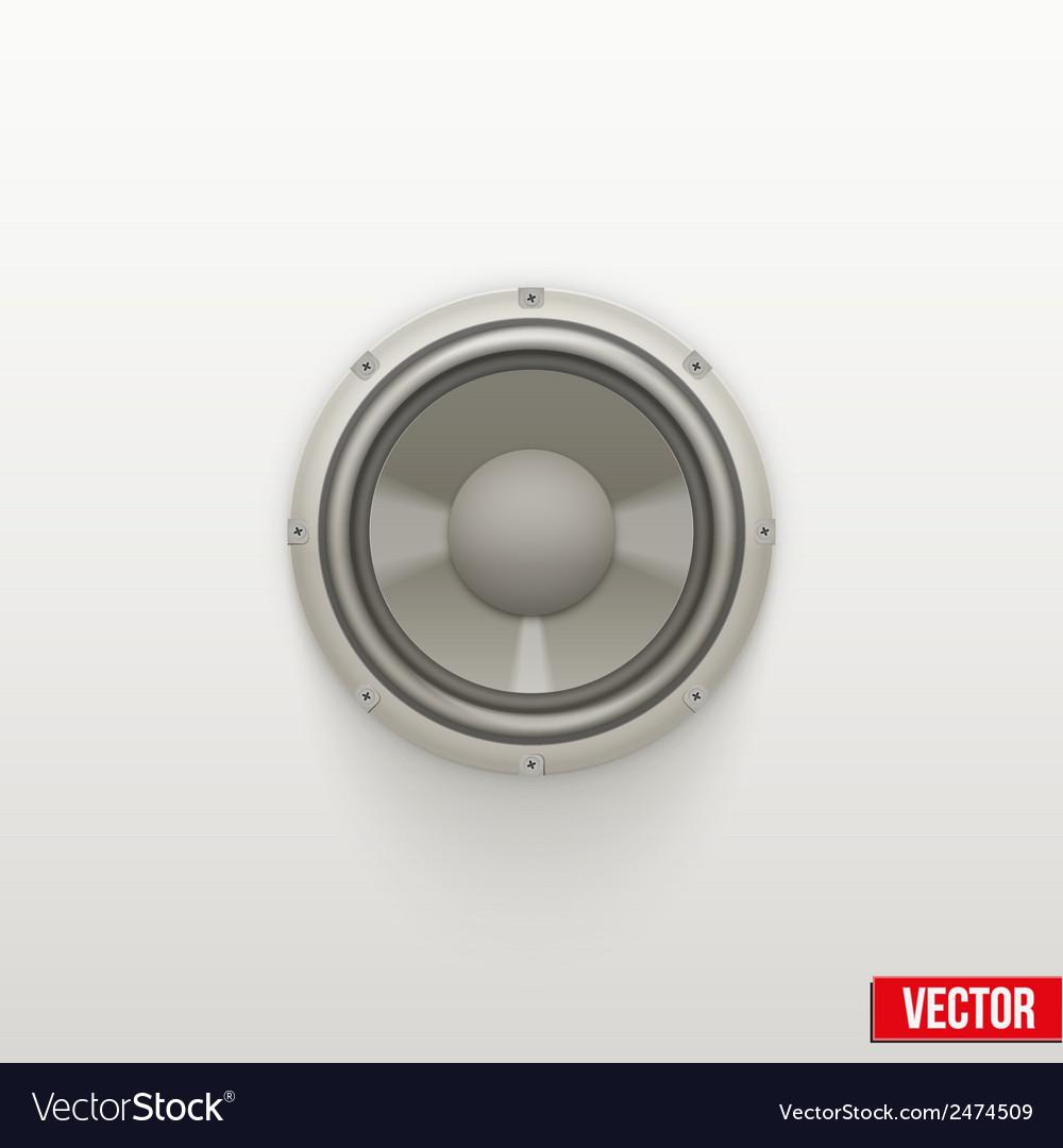 Icon light load speaker symbol of sound vector   Price: 1 Credit (USD $1)