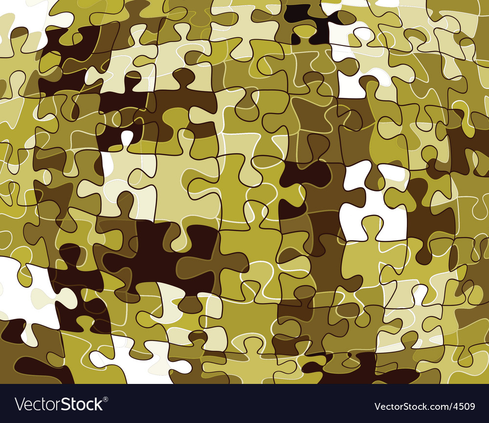 Jigsaw pattern vector | Price: 1 Credit (USD $1)