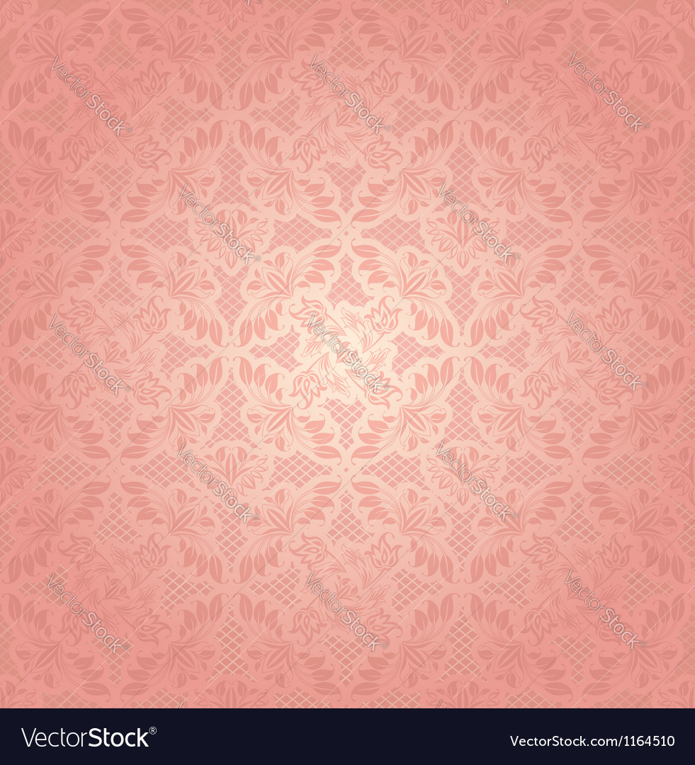 Decorative pink ornament vector | Price: 1 Credit (USD $1)