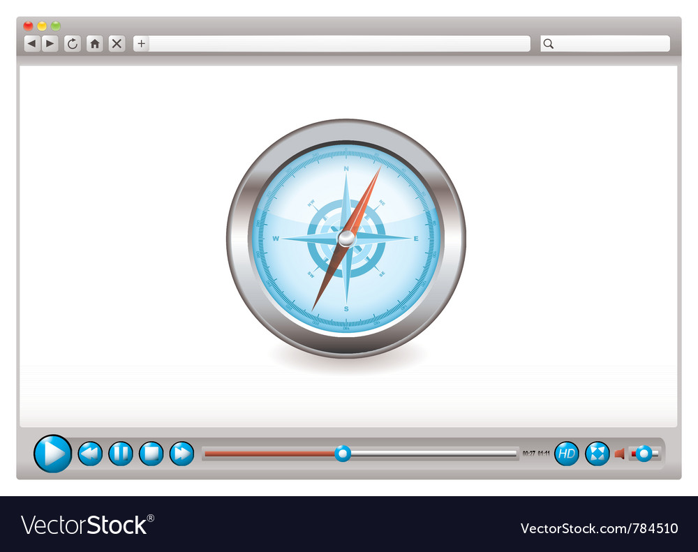 Internet web browser concept vector | Price: 1 Credit (USD $1)