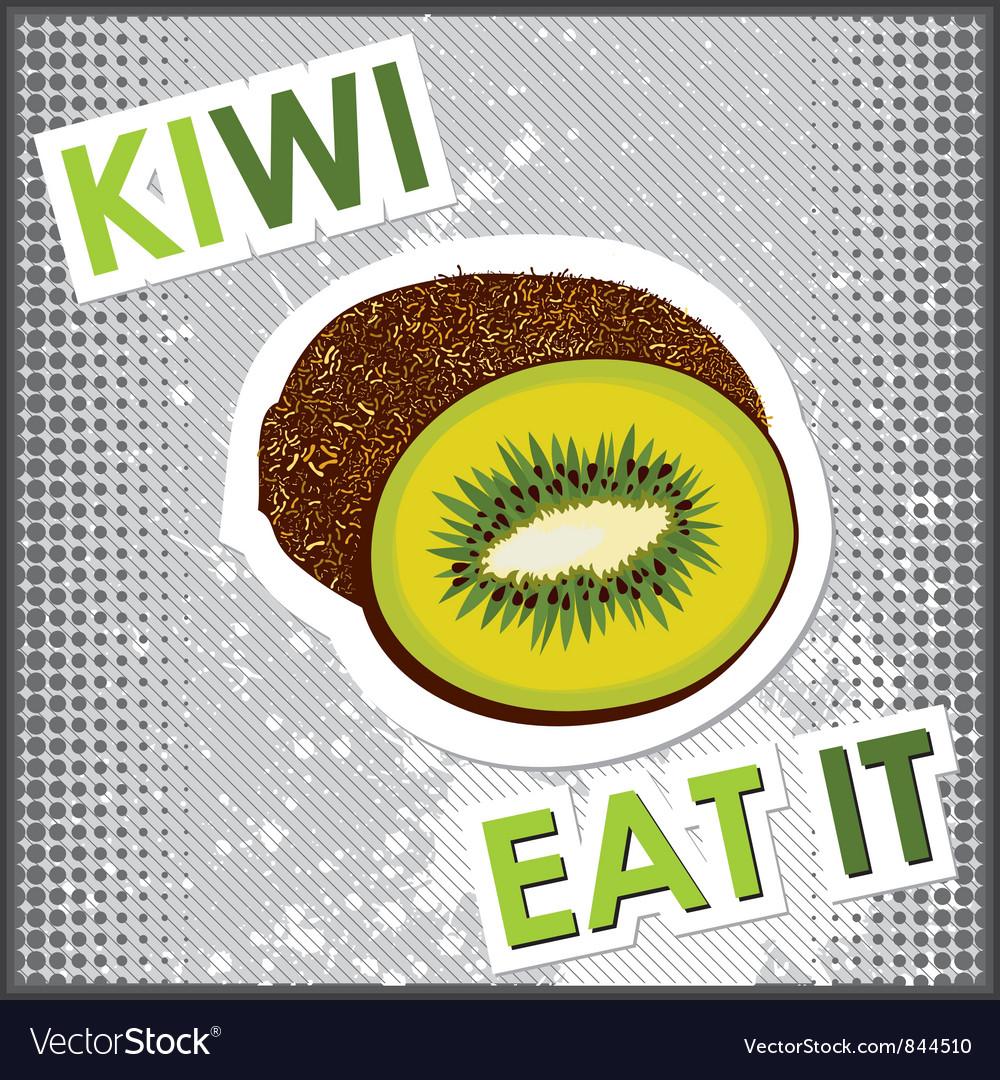 Kiwi vector | Price: 1 Credit (USD $1)