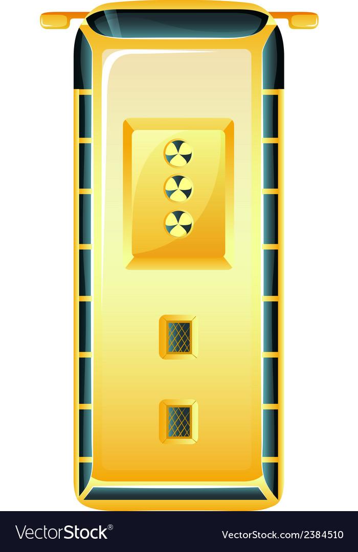 Radiocative door vector   Price: 1 Credit (USD $1)