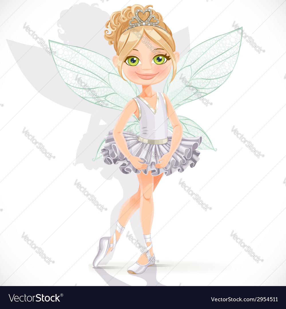 Beautiful little fairy girl vector | Price: 3 Credit (USD $3)