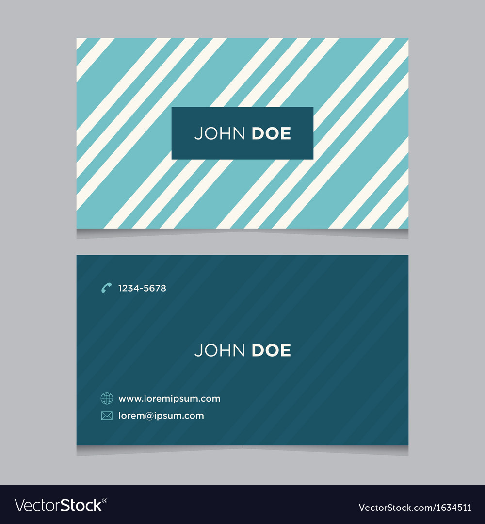Business card pattern blue 03 vector | Price: 1 Credit (USD $1)