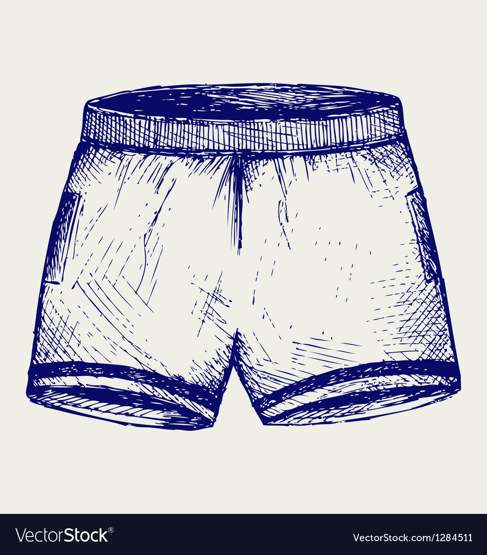 Swimming trunks vector | Price: 1 Credit (USD $1)