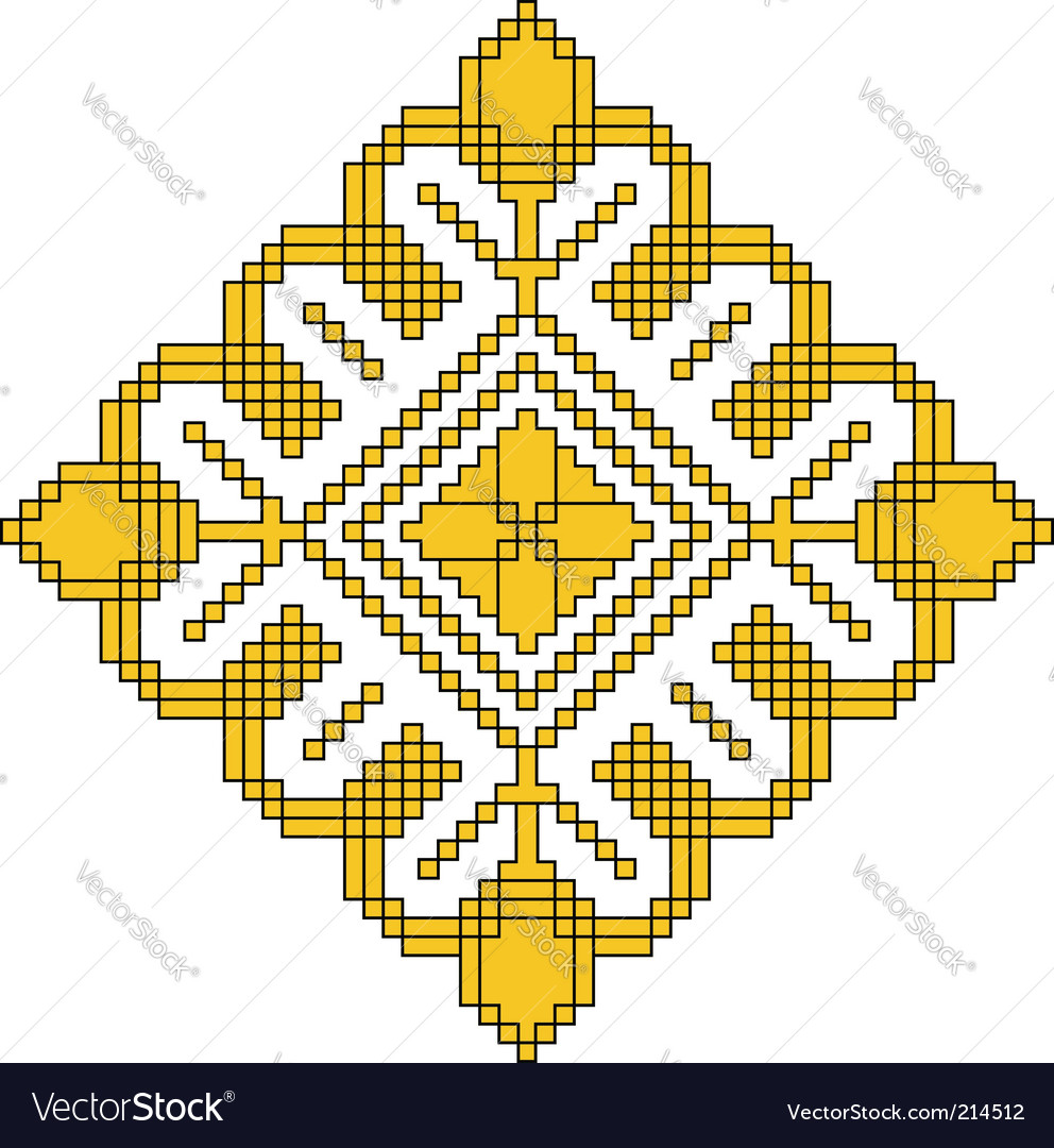Elegant design ornament vector | Price: 1 Credit (USD $1)