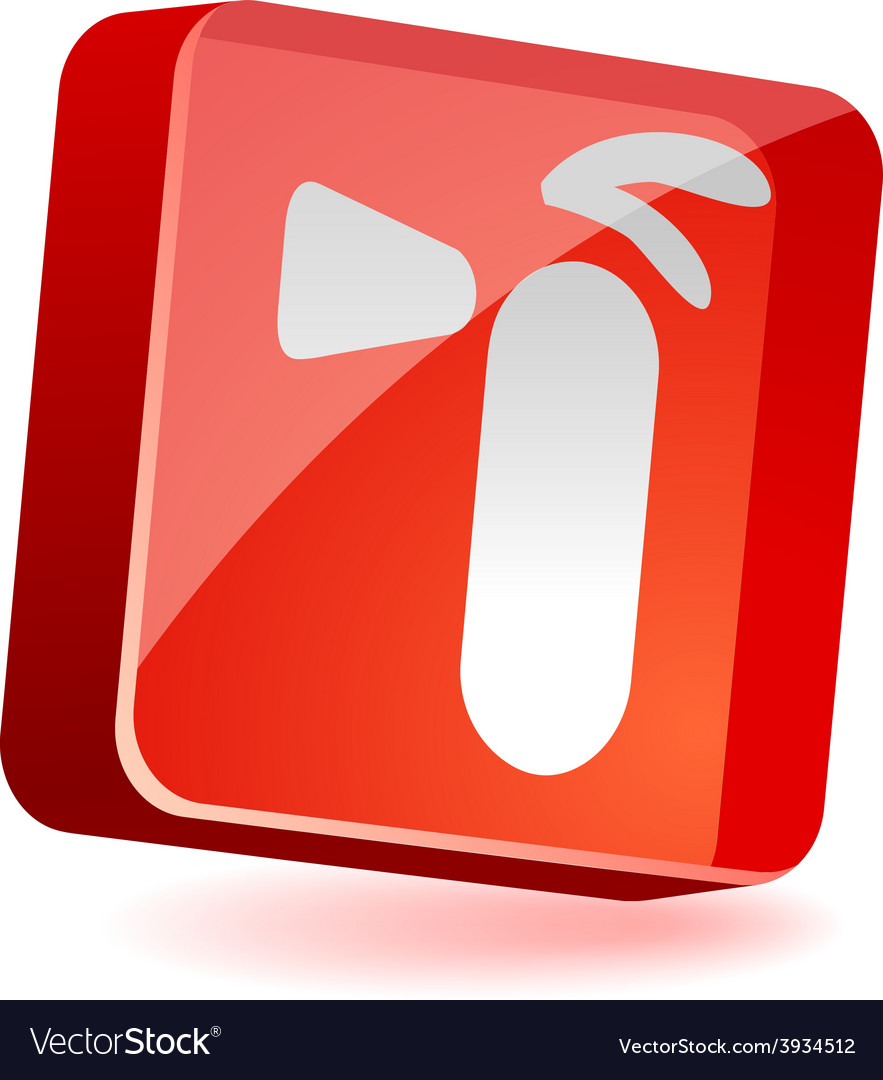 Extinguisher icon vector | Price: 1 Credit (USD $1)