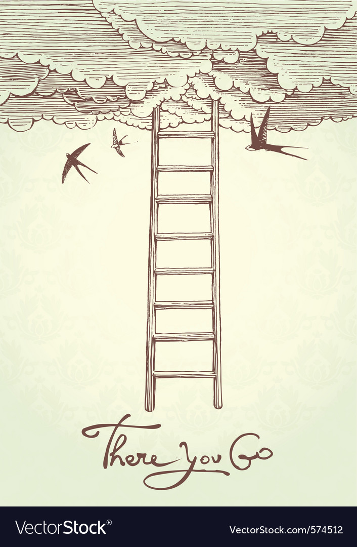 Stairway to heaven vector | Price: 1 Credit (USD $1)