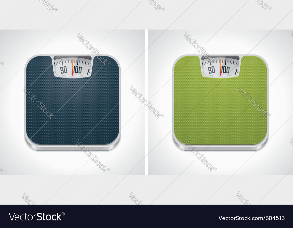 Bathroom weight scale vector | Price: 3 Credit (USD $3)