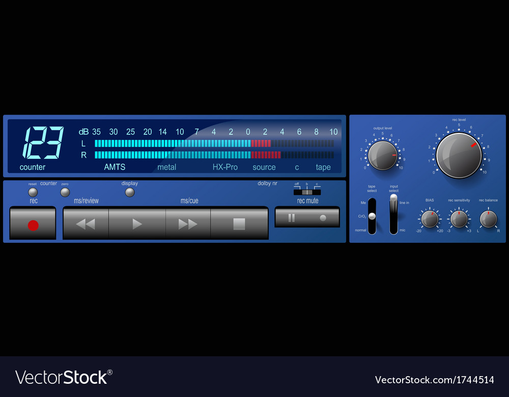 Control panel2 vector | Price: 1 Credit (USD $1)