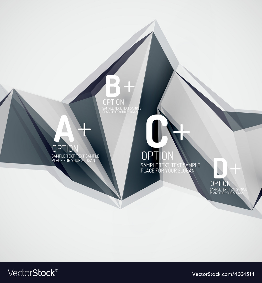 Geometric shapes in the air abstract vector | Price: 1 Credit (USD $1)