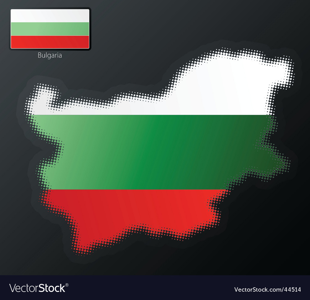 Halftone bulgaria vector   Price: 1 Credit (USD $1)