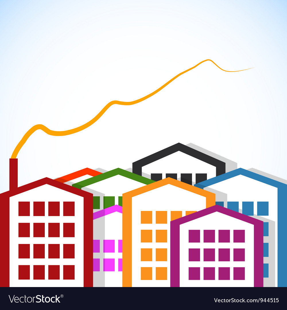 Abstract houses vector   Price: 1 Credit (USD $1)
