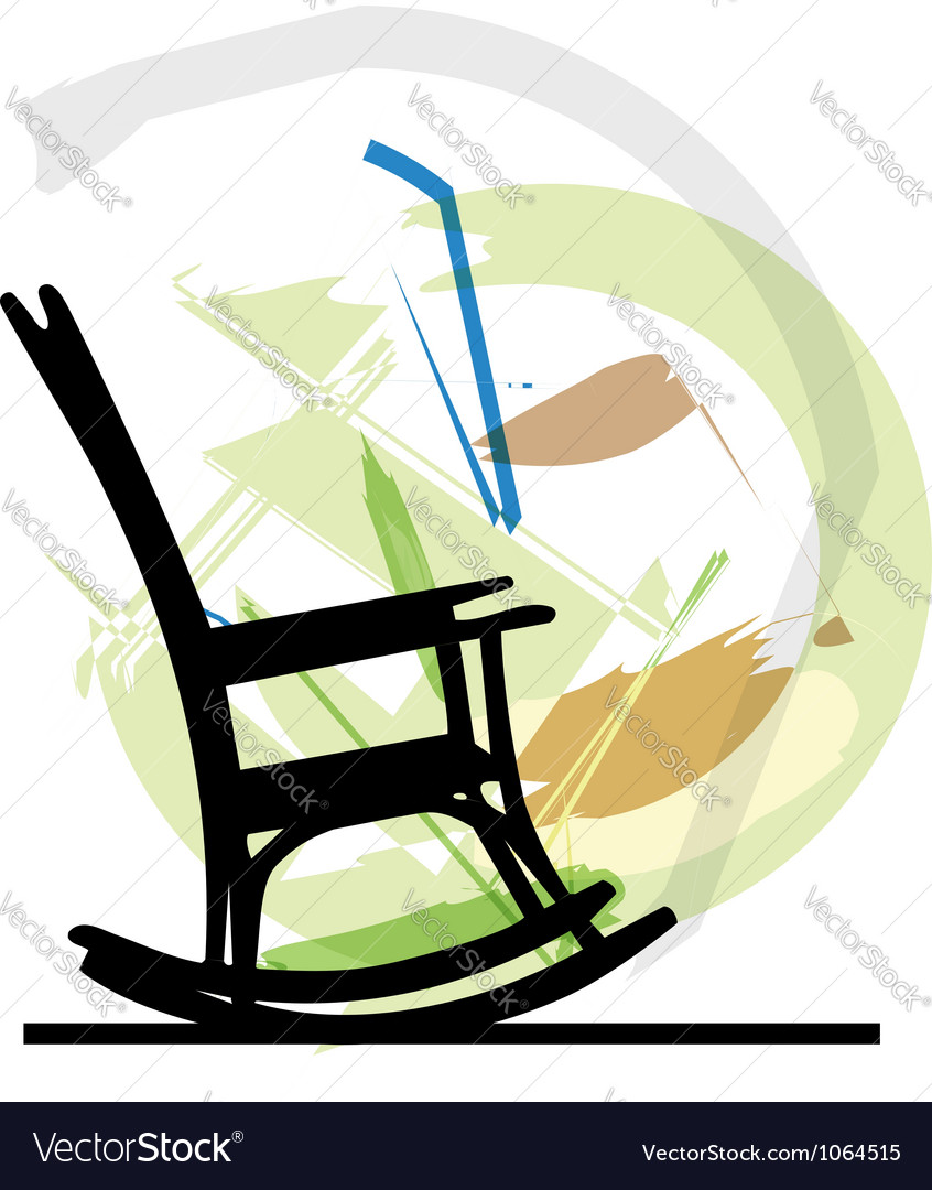 Rocking chair vector | Price: 1 Credit (USD $1)