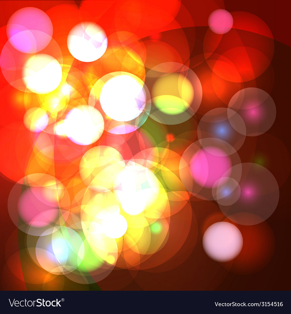 Abstract bokeh effect background vector   Price: 1 Credit (USD $1)