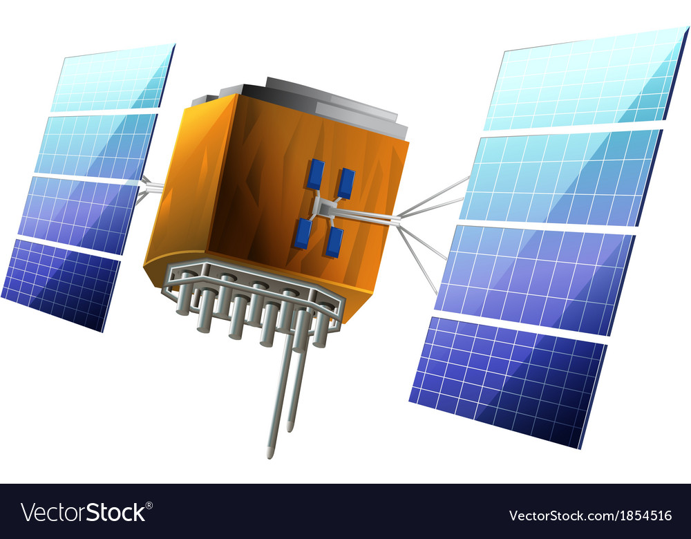 Artificial satellite vector   Price: 1 Credit (USD $1)